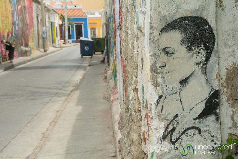 Street Art in Getsemani - Cartagena, Colombia