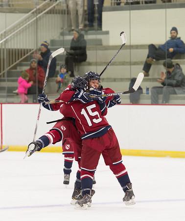 12/15/16: PKO Tournament, Girls' Varsity Hockey v Hotchkiss