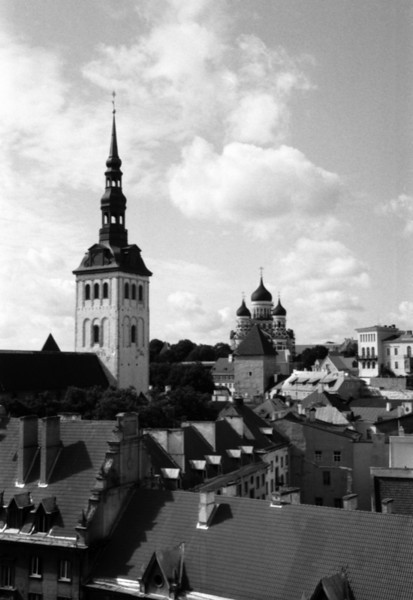 The Journey Begins - Tallinn, Estonia
