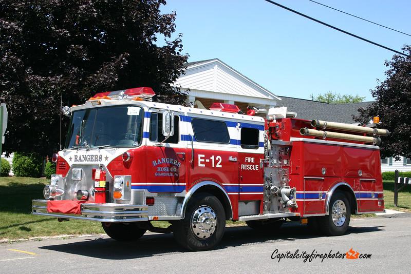 Girardville (Rangers Hose Co.) X-Engine 45-12: 1978 Mack CF 1000/750