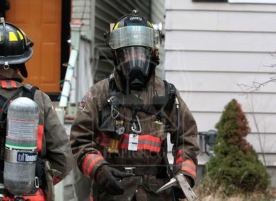 April 10, 2015 - Working Fire - 117 Hampton Ave