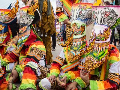 Ghost Festival in Dansai, Thailand