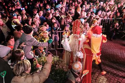 Lichtstoet en Sinterklaas 2017 - Gemeentehuis