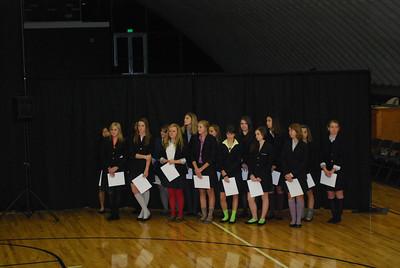 Fall Athletic Awards - November 2011