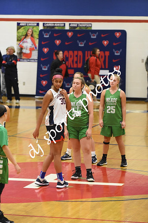 2019-11-25 SHA vs Meade County JV Girls Basketball