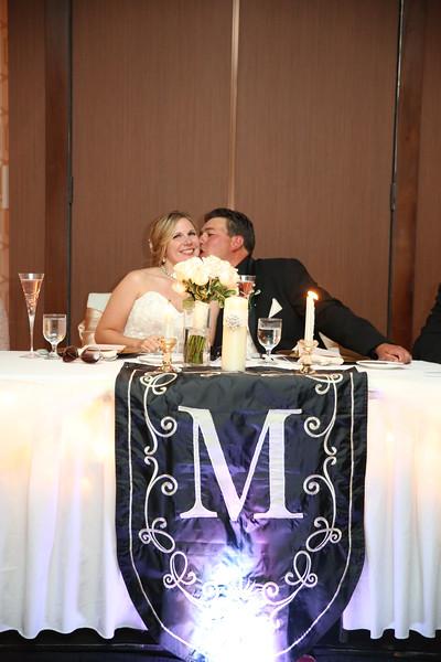 Bradd and Lyndsie--Reception