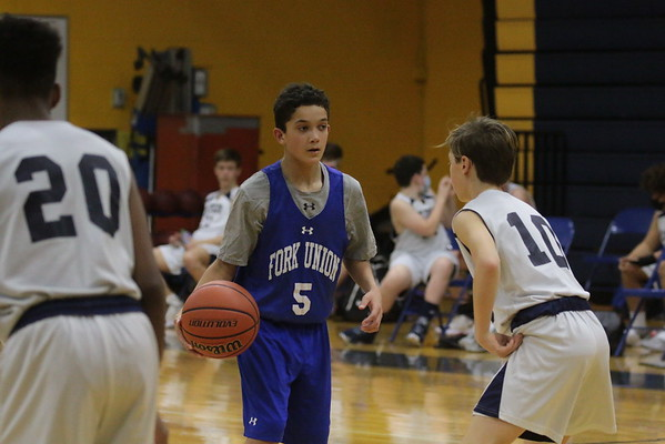 Reds Basketball at Fluvanna Middle School - Feb 4