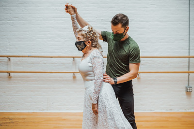Mona V., 80, Learns how to dance Ballet