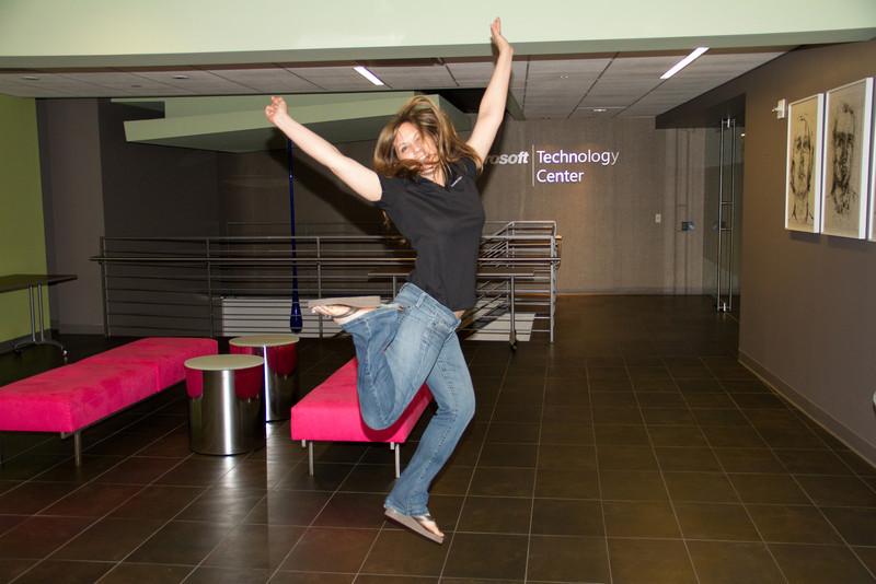 Marcy Jumps in MTC Manhattan