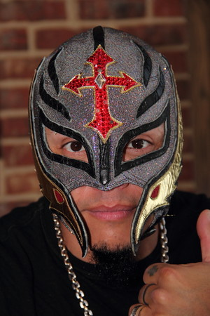 2015-03-08 Rey Mysterio @ Philadelphia, PA