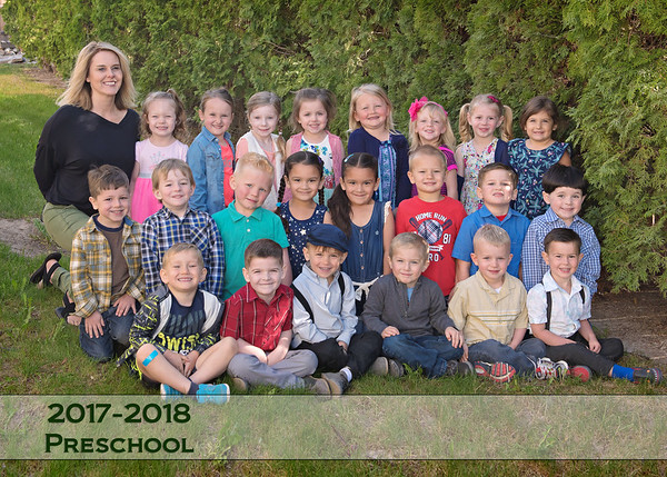 Homedale Preschool Spring 18