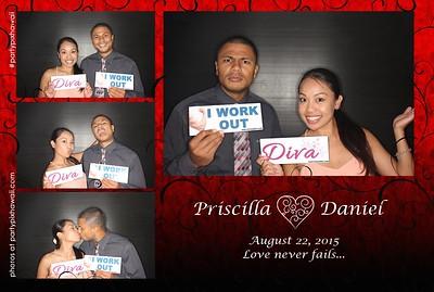 Priscilla & Daniel's Wedding (Luxury Photo Pod)