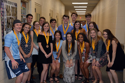 Senior Awards and Exhibit (5/21/2018)
