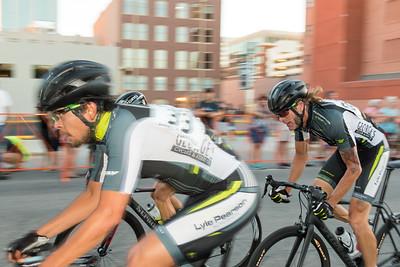 Team Mercedes Benz in the Boise Twilight Criterium, July 16, 2016
