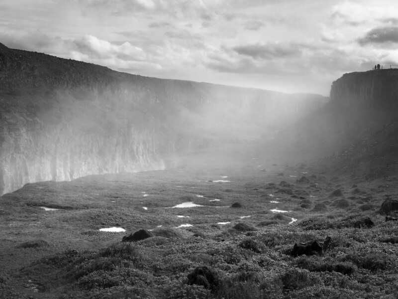 Iceland Mist    Black and White Photography by Wayne Heim