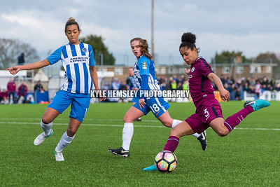 Brighton & Hove Albion Ladies 0-2 Man City Ladies (£2 Single Downloads. £8 Gallery Download. Prints from £3.50)