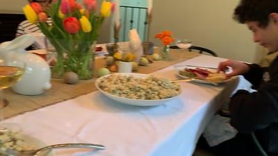 2020.04.12 Easter dinner