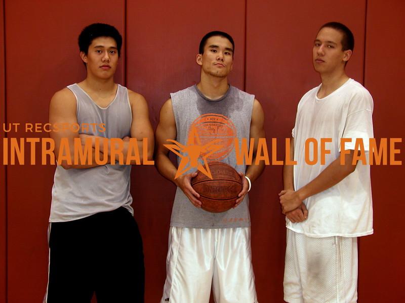 3-ON-3 BASKETBALL Runner-Up  #1 Stunnaz  R1: Enoch Han, Derrick Tsou, Dane Button