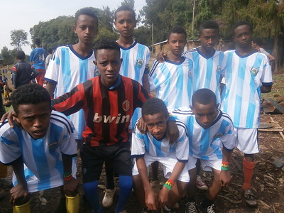 The Link Ethiopia Gondar Under-15s team win first match!