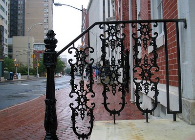 Trenton New Jersey, Walking in the rain