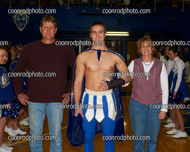 QHS Basketball Senior Night 2011