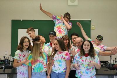 US Chem Lab Tie-Dyed Shirts 9-7-18