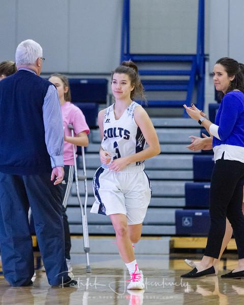 2018-12-28 Hillsdale Academy Girl's Varsity Basketball vs. Hillsdale High