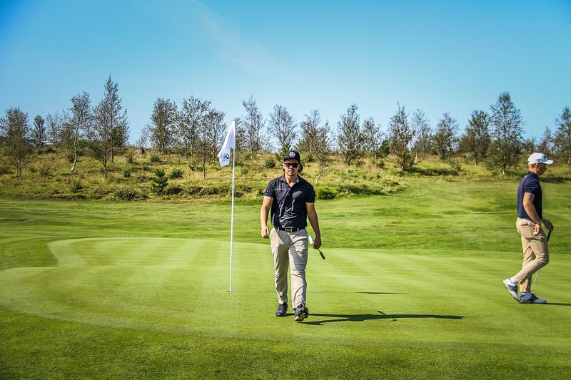 Vikar Jónasson.  Íslandsmót golf 2019 Grafarholt - 1. keppnisdagur. Mynd: seth@golf.is