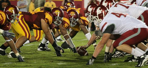 USC vs. WSU Football 09