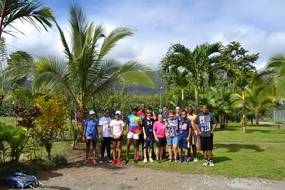 Middle School Costa Rica Trip 2017