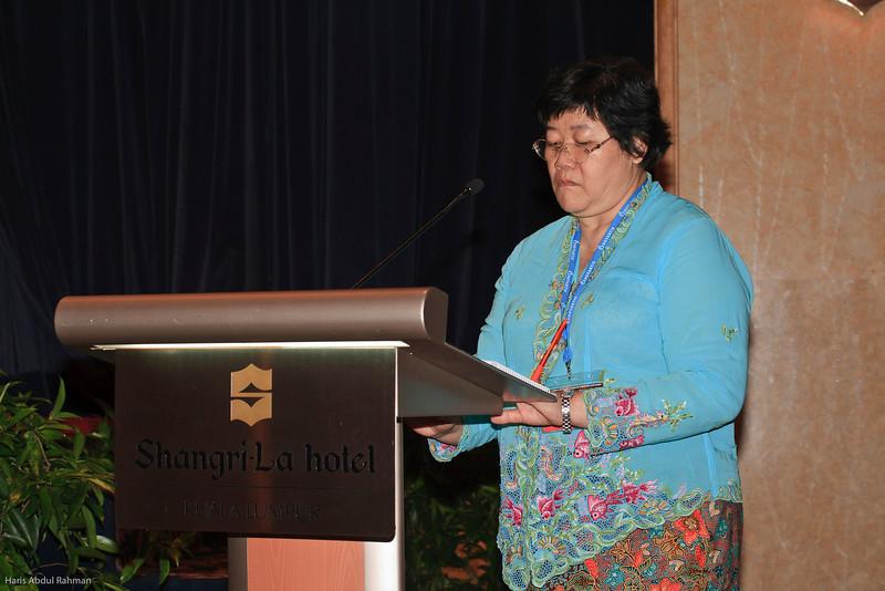 Madam Chairperson, Matron Tan