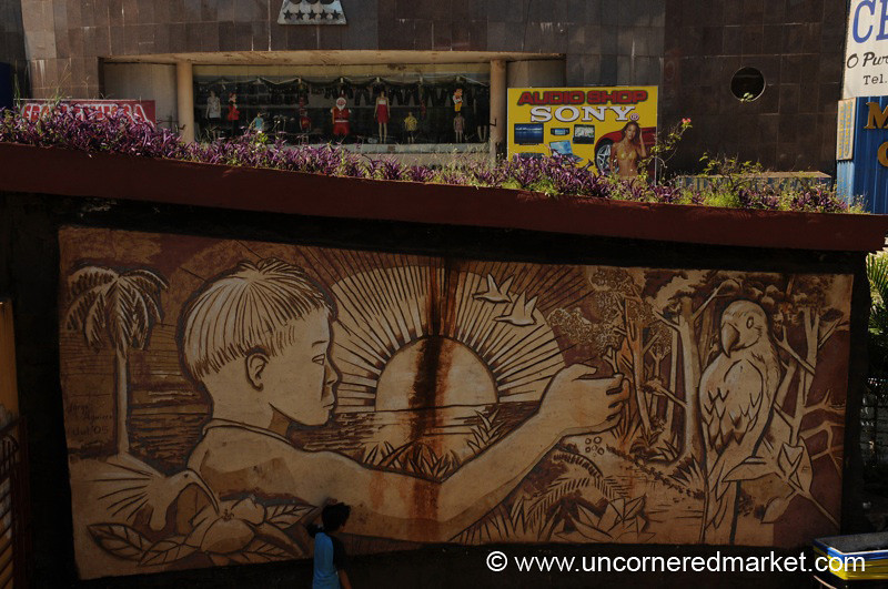 Public Art in Ciudad del Este, Paraguay