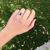 2.08ctw Sapphire and Diamond Ring, GIA No-Heat 24