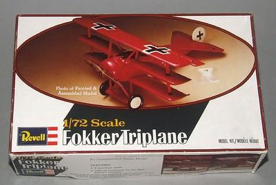 Revell 1-72 Fokker Dr.1, Lothar