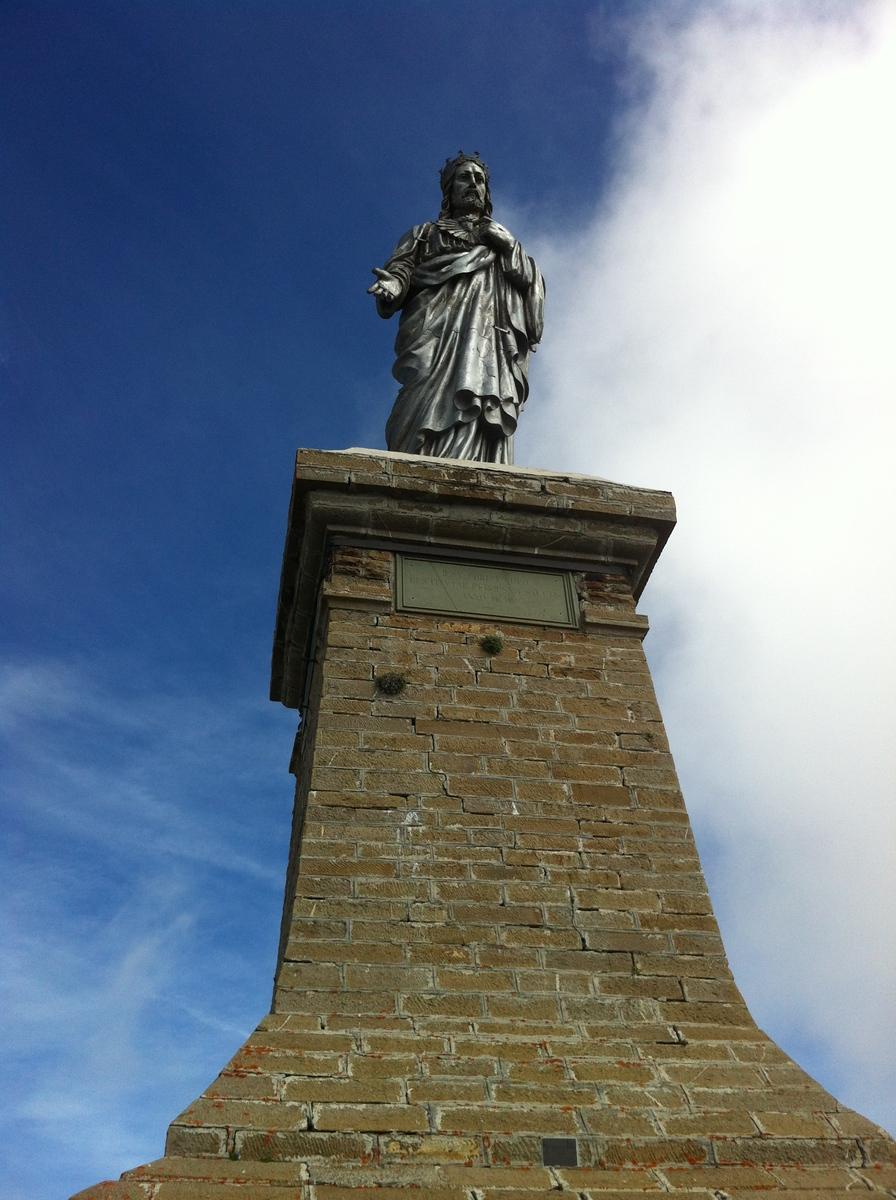 Il redentore sul Monte Saccarello