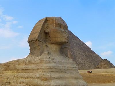 Giza and Saqqara, near Cairo