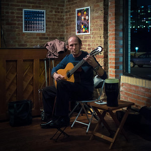 Anthony Purdy at the Indian Road Café