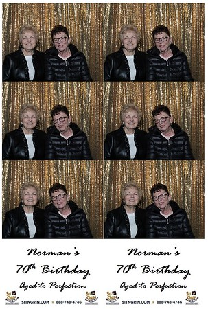 Norman's 70th