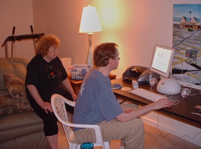 Shirley Lebin, FL, Greensburg, PA. August 2003.