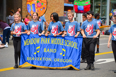 2017 Meadow Park Band - Jr. Rose Parade