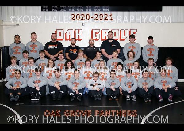2020-2021 OGHS Wrestling