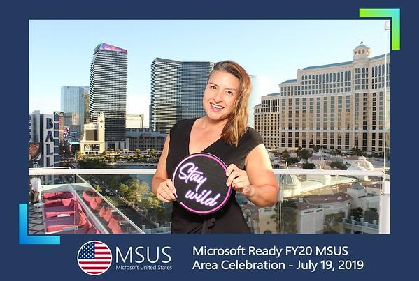 Microsoft Ready FY20 MSUS Area Celebration