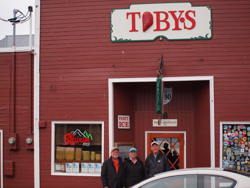 Our pub lunch on Day 11Toby's Tavern in Coupeville