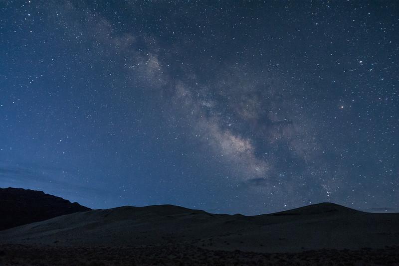 Milky Way at Eureka Dunes