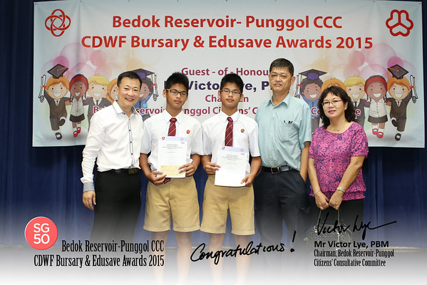CDWF Busary & Edusave Awards 10-1-2015 Afternoon