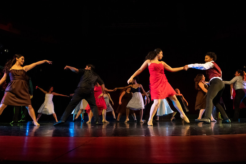 """The Time is Now,"" choreographed by Jilissa Cotten, was performed by Jazz Dance I in the fall 2018 Island Dance Demo."