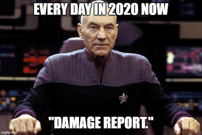 Every Day in 2020 Now: Capt. Picard