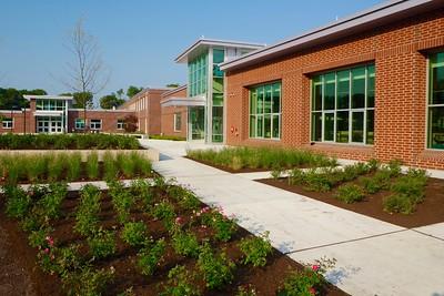 NRMS/HS Entrance Plaza 9-2-15