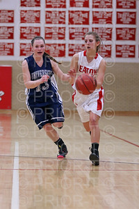 2/17/15 Eaton JV Girls Basketball vs University