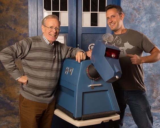 Fourth Doctor Companion K9: John Leeson 5pm
